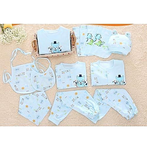ed442cd16 Fashion Newborn Baby Clothing Set Spring And Summer Children Underwear Infant  Baby Wear Sets Cotton Fabric-73
