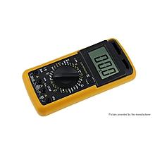 Digital Multimeter Capacitance Temperature Meter - Yellow And Black