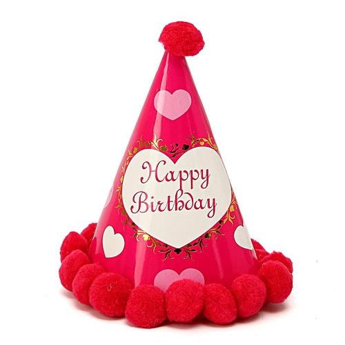 Party Cone Hats Dress Up Girls Boys Adults Kids Happy Birthday Baby Celebration