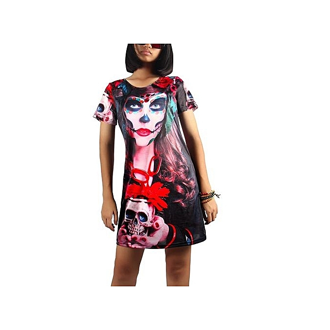 Buy Generic Halloween Costume Terror Female Zombie Female Ghost