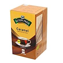 Pride Caramel 25 Tea Bags - 25g