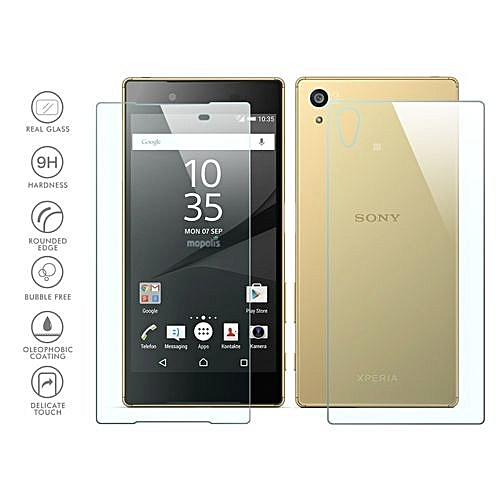Generic Front And Back Tempered Glass Film Screen Protector ForSony Xperia Z5 Premium (Color:c0)