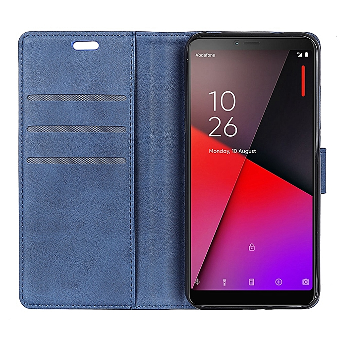 sale retailer 9a521 27518 Vodafone Smart X9 Case,Lightweight Design PU Leather Flip Cover with Card  Slots,Kickstand Function and Magnetic Clasp Protective Case for Vodafone ...