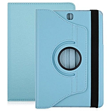 PU Leather 36 Degree Rotating Back Case Holster Protective Cover For Samsung Galaxy Tab A 9.7 T55 / T555