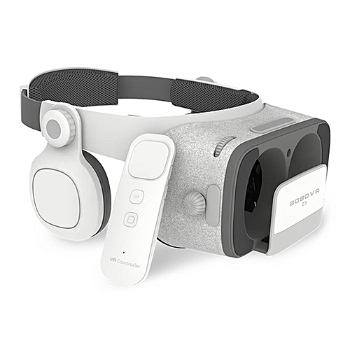 8e8409be7e5 Generic VR Z5 Virtual Reality 3D Glasses Cardboard FOV 120 Degrees VR Box 3D  Headset for Android IOS with Daydream Remote Controller ABDSW