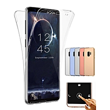 Samsung Series Phone Case Transparent TPU Full Protection Phone Cover____SAMSUNG S7 EDGE____transparent