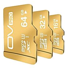 OV 16GB 32GB  MicroSD MicroSDHC Micro SD SDHC Card  Memory Card Gold