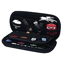 Big Capacity USB Flash Drive Bag, Digital Gadget Case, Black
