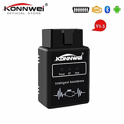 KW912 ELM327 Bluetooth Pic18f25k80 Obd2 V1 5 Scanner Car Diagnostic Tool  Code Reader Scan OBD2 Automotive Car Obd2 Tools LBQ