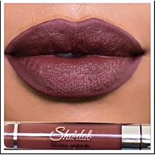 Sho'dol Matte Liquid Lipstick -  EARTH BROWN