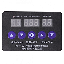 New 12V Digital Temperature Controller 10A Thermostat Control Switch With Probe