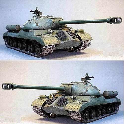 Military Armor Model Kit Russian Heavy Tank JS-3M 1/35 Scale PS Plastic  197mm
