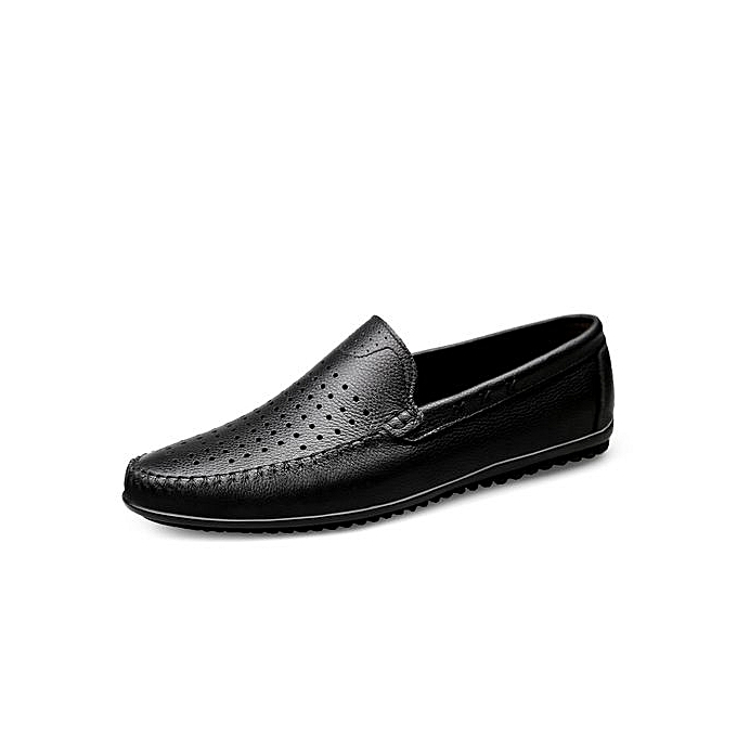 Generic Italian Mens Shoes Casual Brands Genuine Leather Men Loafers ... 21d44811fde