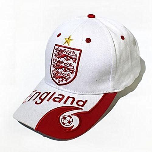 Generic 2018 Football baseball Cap letter print England Brazil Spain France  Argentina Germany Fans Caps Headwear Hat - White   Best Price  636db78ec5cb
