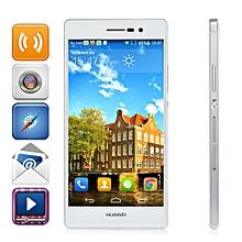 Ascend P7 5.0-inch (2GB, 16GB ROM) Android 4.4 13MP+8MP Smartphone - White +Free UK Plug