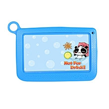 Android Tablet Kids 7 Inch Tablet PC 512MB 4G A33 Quad Core Learning Tools-blue