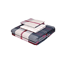 4Pc - Flat Bedsheet Set - 6 x 6 - Multicoloured