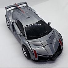 Manual Lamborghini Transformer Toy car-grey