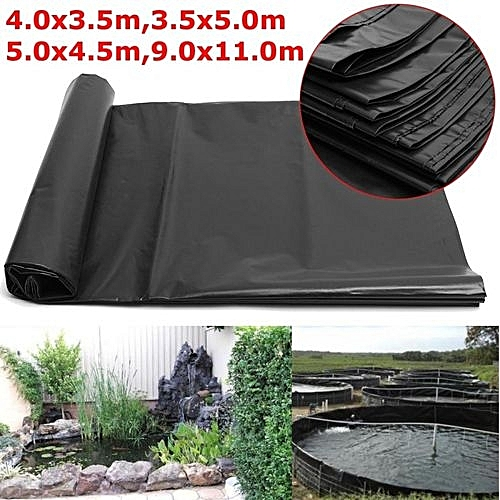 Durable Fish Pond Liners Reinforced HDPE Membrane Garden Pools Landscaping  Size 5*4 5M