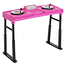 Music DJ Console mixer Controller operator Set For Barbie Ken Doll Shocking Pink