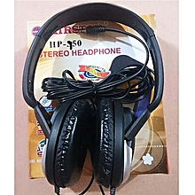HP-750 Ear Headphone - Black