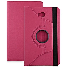PU Leather 360 Degree Rotating Back Case Holster Protective Cover For Samsung Galaxy Tab A 10.1 T580 / T585
