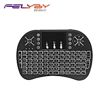 Mini Wireless Keyboard 2.4GHz i8 Backlight touch screen mouse Remote Control Multi-function keyboard