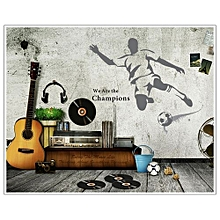 New Creative Sport Football Stickers Removable Mural PVC Home Decor-