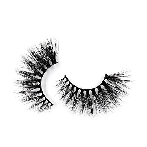 d53f530d7d3 Generic Eyelashes 3D Mink False EyeLuxury Large Criss-cross False Eyelashes  25mm Hand Made Fluffy Dramatic Lashes Makeup(G12)