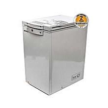 AF-C13(K) - 4.6 CuFt - Chest Freezer - 131L - Light Grey