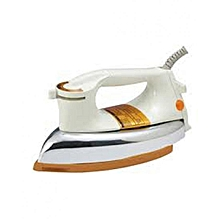 Heavy weight Dry Iron - 1200W - White & Silver