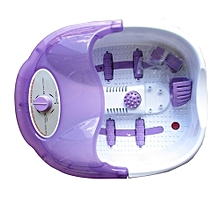 Bymace Foot Massager- white and purple