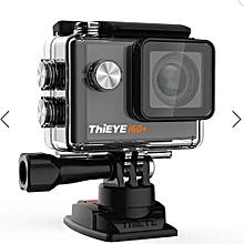 ThiEYE i60+ 4K Ultra HD WIFI Action Camera 12MP 2.0 Inch Screen 170 Degree Wide Lens Sport DV Black