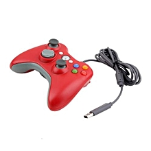TA-Improved Ergonomic Design USB Wired Joypad Gamepad Controller For Xbox 360*Red