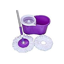 Spin Mop & Bucket Set - Purple