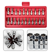 Car Repair Tool 46pcs/box Socket Set Ratchet Torque Wrench Combo Tools
