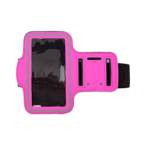 Sports Running Jogging GYM Armband Case Cover Holder for iPhone 6 4.7'' Rose Red
