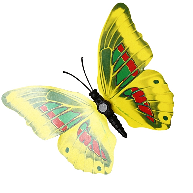 Nice Nylon Butterfly Wall Decor Adornment - Wall Painting Ideas ...