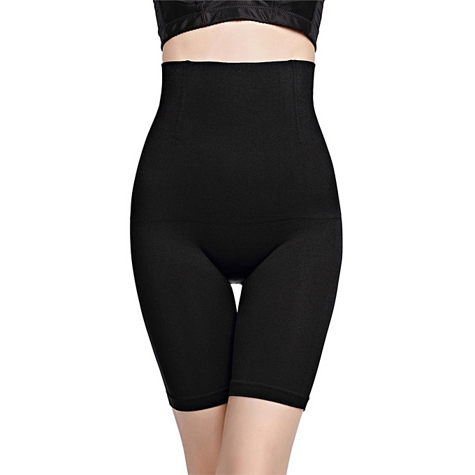 d92dfa0944 Fashion High Waist Trainer Slimming Belly And Lifting Hips Shapewear Pants -Black