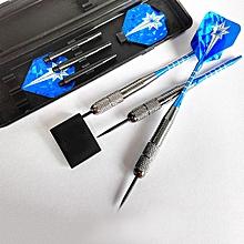 3Pcs Set 26g Professional Dart Anti-throw Hard Darts Target Game Toy - Blue