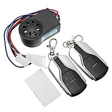 Electric car alarm alarm key-free key to start a 48v60v72v anti-theft device