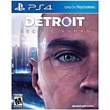PS4 Game Detroit Become Human