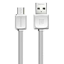 REMAX RC-008i Fast Series Data Cable 1 Meter Micro USB for Android (White) DIOKKC