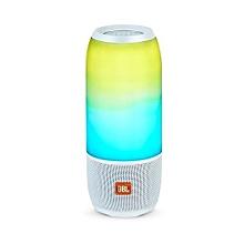Pulse 3 Portable Bluetooth Speaker -White