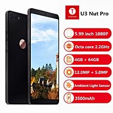 U3 Nut Pro 2 4G Phablet 5.99 inch  4GB RAM 64GB ROM-BLACK