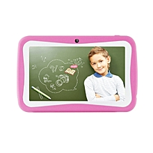 7 inch Tablet PC For Kids Silicone 512MB 8G Quad Core Android Tablet RK3126-pink
