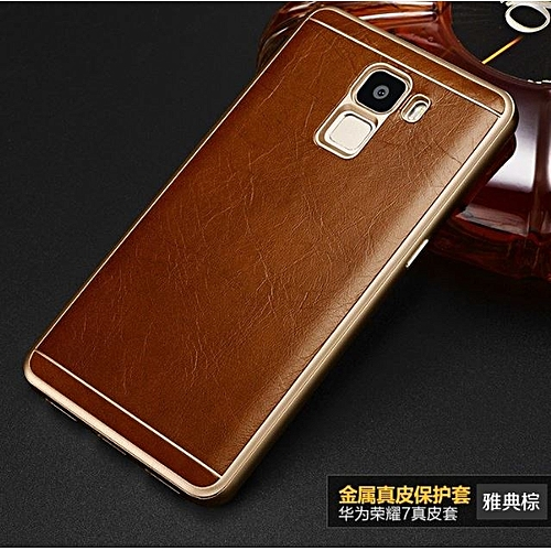 462a696a6bf64c Generic Huawei Leather Case For Honor 7   Best Price