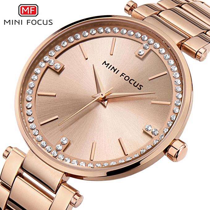 282b1e4e9bf Watch Women MINIFOCUS brand luxury Fashion Casual quartz Unique Stylish  watches leather sport Lady wristwatches relogio