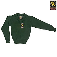 School Sweater - Green