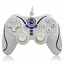 Gpad PSP001 Wireless Gamepad Bluetooth Gaming Controller For Sony Playstation 3 PS3 (White+Blue)